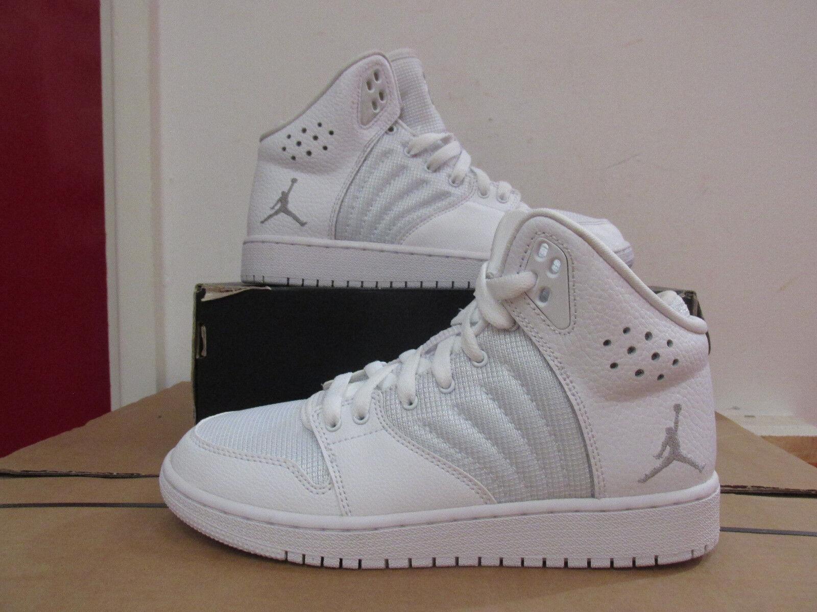 362d25f29ad7f0 Nike Air Jordan 1 Flight 4 BG Hi Top Basketball Trainers 820136 100 ...