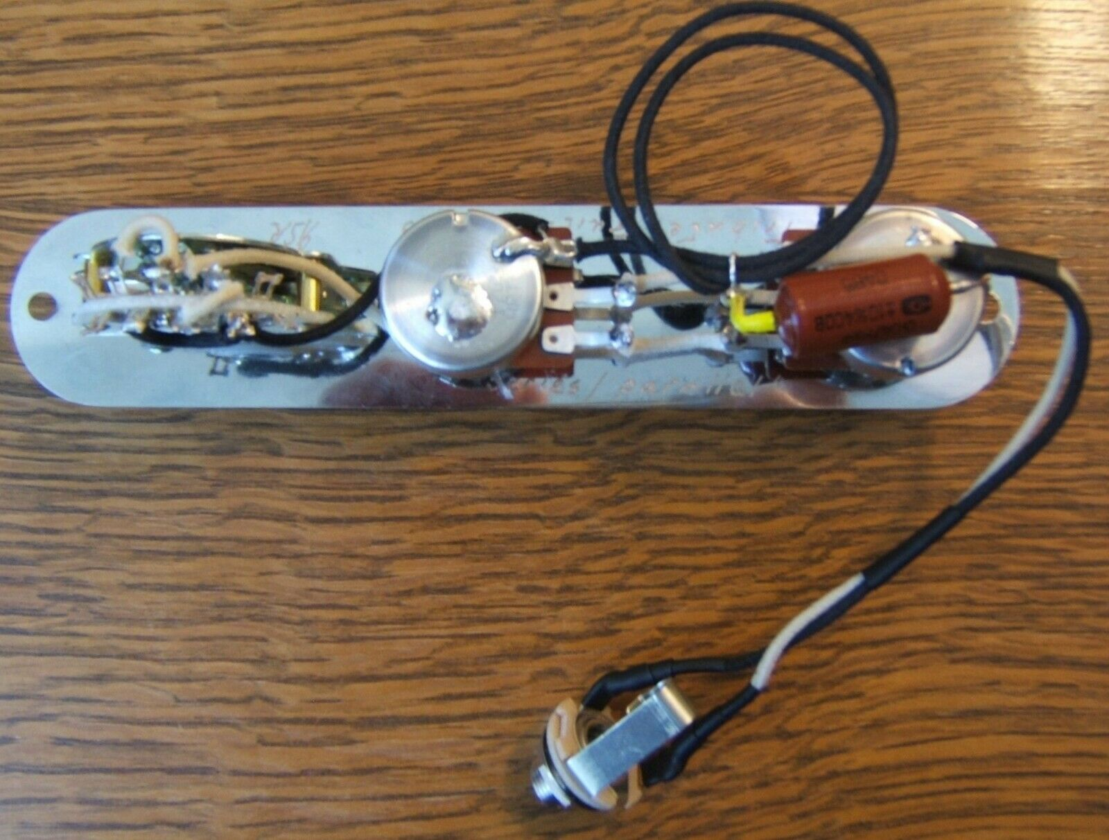 Tribute 4-Way Control Plate Harness for Fender Telecaster