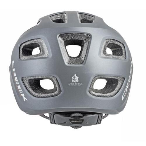 Author Fahrradhelm Creek HST Größe L 57cm-60cm Hard Shell Helm Dial-Fit grau