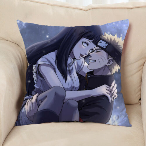 NEW Uzumaki Naruto Kissen Sofakissen Dekokissen Bezug Pillow 40x40CM Anime