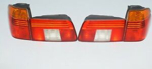 BMW-E39-5er-Rueckleuchten-heckleuchten-satz-Rear-lights-set