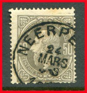 Belgium Postage Stamp Scott 38 Used B956 Ebay