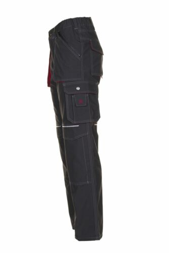 Planam Basalt Herren Bundhose anthrazit rot Modell 2820