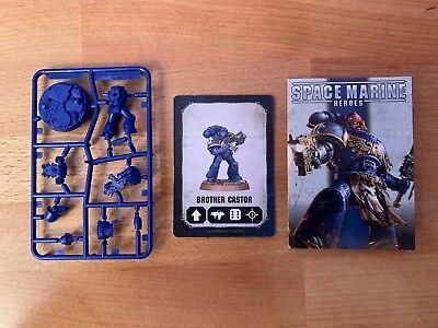 * Nuovo * Warhammer 40k Space Marine Eroi Fratello Di Ricino-mostra Il Titolo Originale