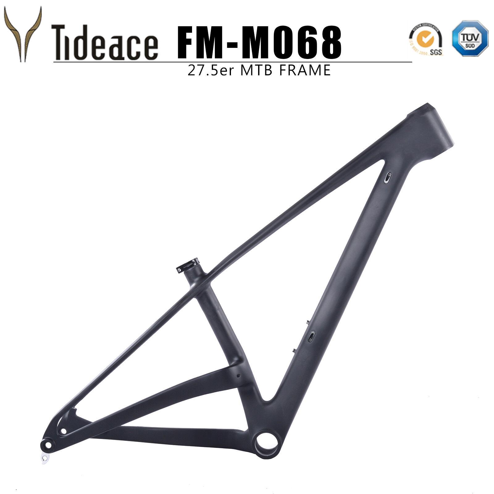 12148mm 27.5er Fibra de Cochebono Bicicleta De Montaña Plus T800 Marcos PF30 31.6mm tija de sillín
