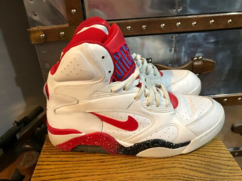Robinson M 10 Nike Air Red 180 Force 5 Jordan 537330 White 101 Bulls Barkley Mid xwzaUq
