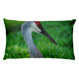 Comfy-Double-Sided-Sandhill-Crane-Throw-Pillow-Enjoy-Natural-Relaxation-amp-Decor