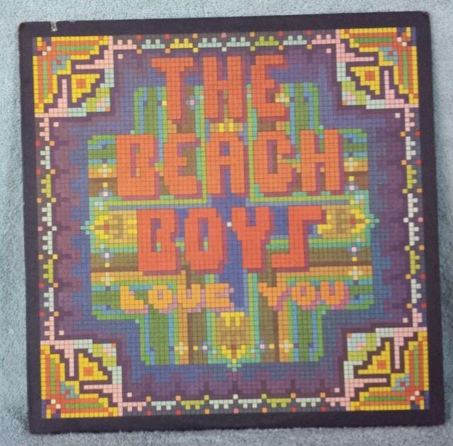 "THE BEACH BOYS 1977 Love You 12"" Vinyl 33 LP SURF ROCK I Wanna Pick You Up VG+"