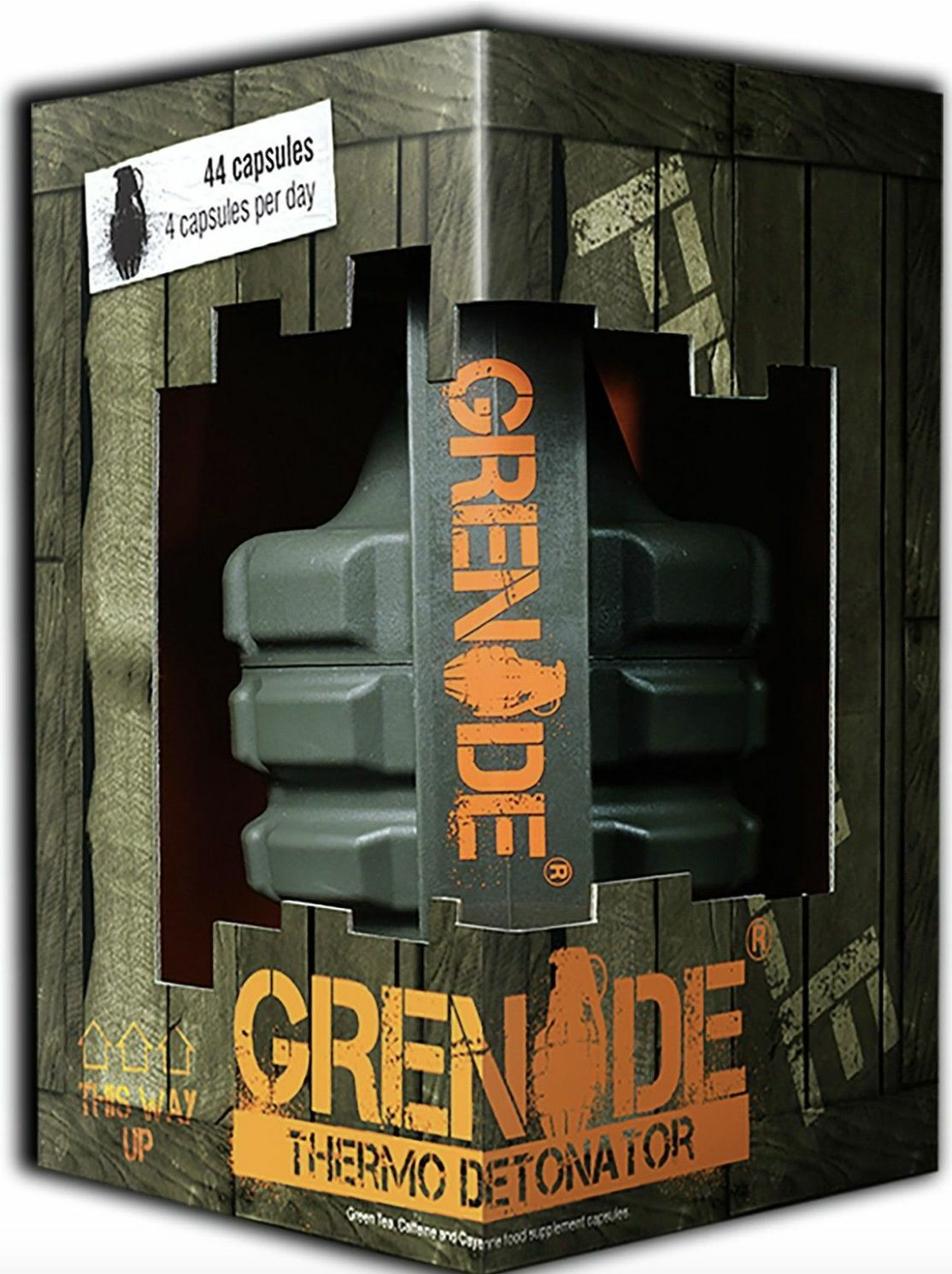 GRENADE thermo detonator 44/100/ caps weight loss fat burner VERY  FAST DELIVERY