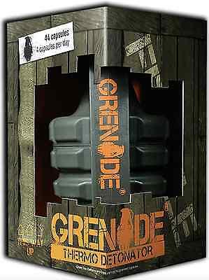 Grenade Termo Detonatore 44/100/tappi Perdita Di Peso Bruciagrassi Consegna Molto Veloce-