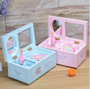 Music-Box-Rotary-Girl-Musical-Mirror-Jewellery-Gift-With-Dance-XMAS-Gift