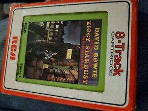 David BOWIE Rise & Fall of Ziggy Stardust 8 Track Cassette Tape VG TESTED
