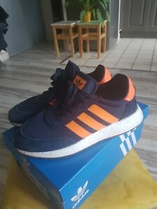 Détails sur Basket adidas 841 i 5323 blue dark Orange neuves