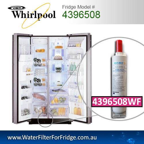 4396508 Whirlpool Fridge Water Filter Replacement 4396508 Aqua Blue H2O