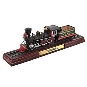 The-General-1-100-Ferrocarril-Locomotora-Atlas-Modelo-estatico