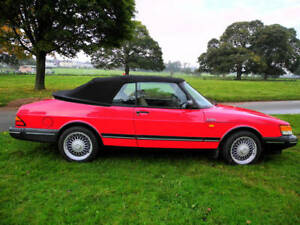 Image Is Loading 1987 1994 Saab Convertible German Cloth Top Only