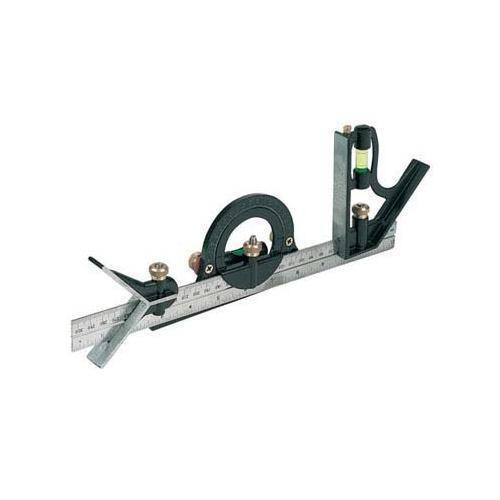 GD130063 Silverline Kombination Quadrat Legen 300mm Mess-Heimwerker-Werkzeug