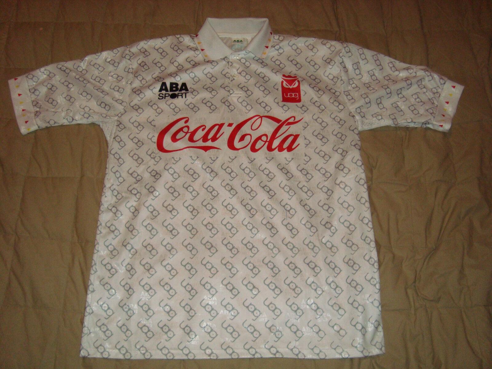 ABA Sport U.A.G. Tecos Authentic Soccer Jersey Vintage Futbol Sz. L UAG