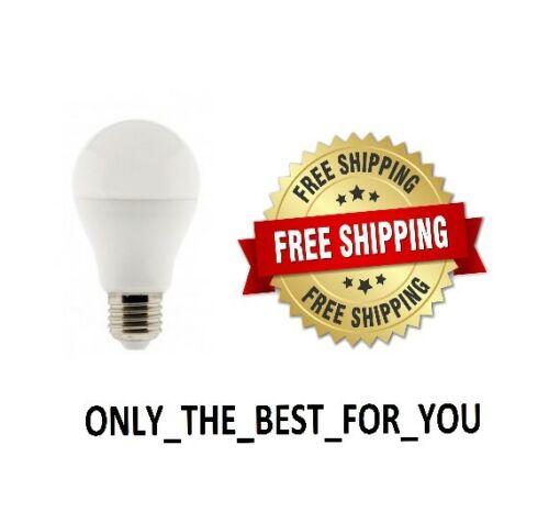 LED LIGHT BULBS 7 WATT 40 WATT EQUIVALENT 5000K DAYLIGHT A19 E26 BASE 1-24 PACK