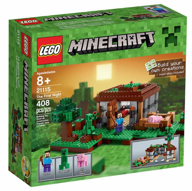 NEU LEGO ® Minecraft ® 21115 Steves Haus NEU & OVP  Minecraft