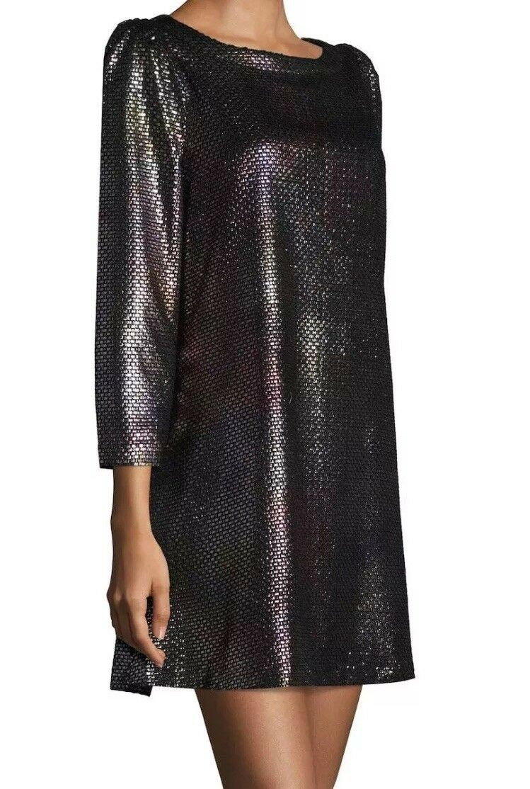 Libre People Diamonds Are Forever Metallic gaine robe en argent Taille Moyenne Neuf Avec Étiquettes