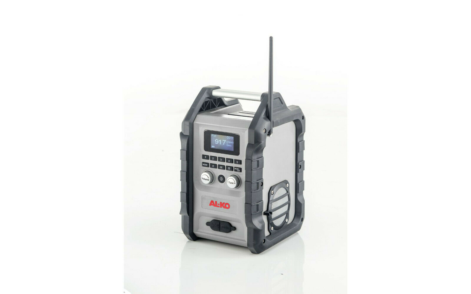 Al-Ko Akku-Radio WR 2000 mobil unabhängig Sound Garten Baustelle tragbar