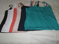 NEW LADIES M & S CAMI VEST TOP CHOICE OF COLOURS AND DESIGN SIZES 6-16