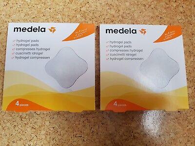 2 Pack (8 Stück) Medela Hydrogelpads, Nagelneu Und Ovp, Mhd 2020-03 Modische Muster