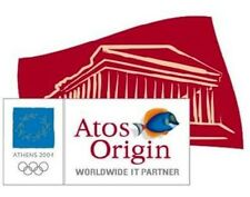 ATOS ORIGIN WORLDWIDE PARTNER ATHENS 2004 OLYMPIC PIN