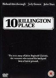 1 of 1 - 10 TEN RILLINGTON PLACE DVD Richard Attenborough Judy Geeson Rilington New UK