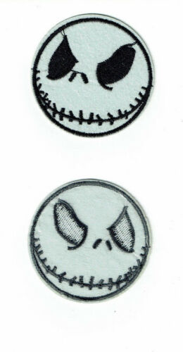 JACK SKELLINGTON Patch Nightmare Before Christmas skeleton Iron On patches