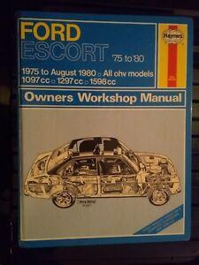 Ford-Escort-MK2-1975-to-1980-Haynes-Workshop-Manual-Hardback