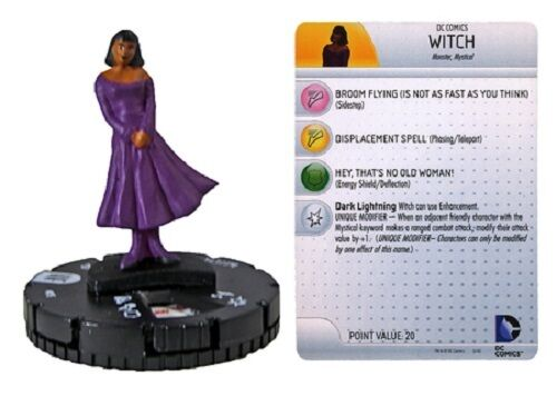 World/'s Finest WITCH #015 DC Heroclix