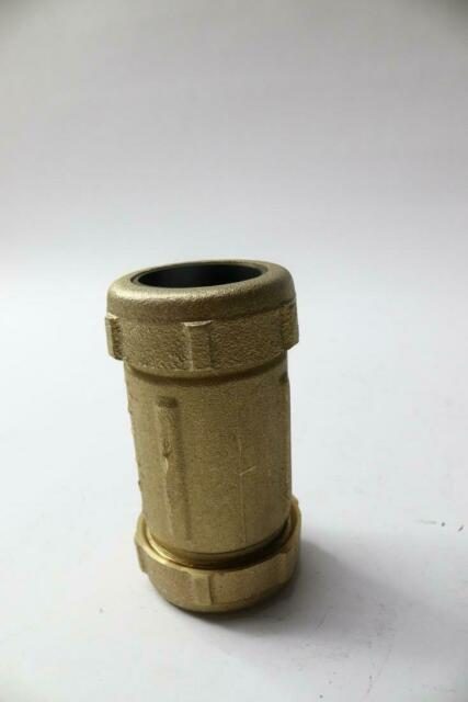 1 1 4 Low Lead Brass Compression Coupling Ebay