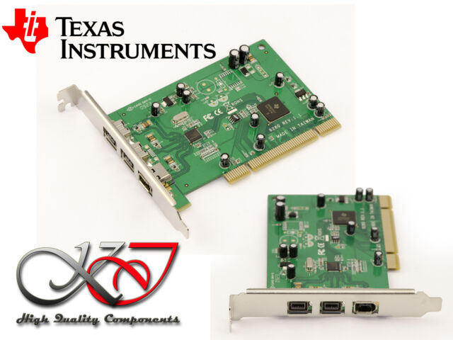Pci Card Firewire 800 And 400 Ieee1394a 1394b Texas Instruments Ti Sn082aa2 For Sale Online Ebay