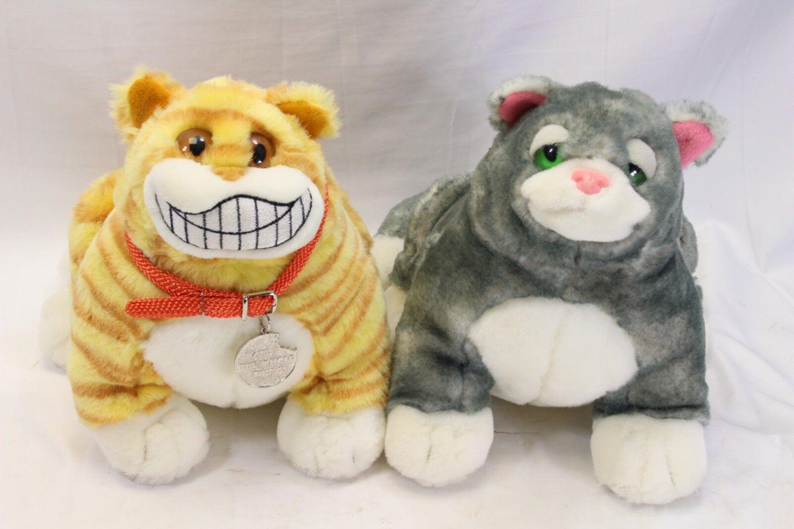Fat Cats Plush 10  Set of 2