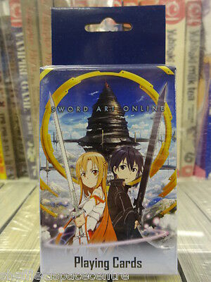 Sword Art Online Official Anime & Manga Playing Cards