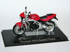 Ixo-Triumph 955i Speed Triple-modelo de la motocicleta Escala 1:24