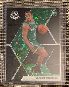 2019-20-Mosaic-Carsen-Edwards-Black-Prizm-RC-1-1-SP-RARE-Boston-Celtics-PSA-10