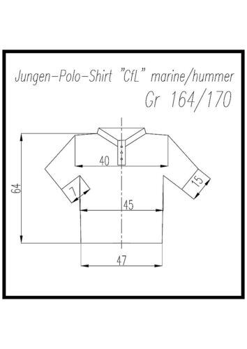 Jungenen-polo di colors for Life Tg 164 a 182