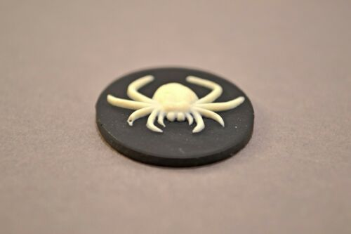 SPIDER  SILICONE MOLD FONDANT POLYMER CLAY RESIN FIMO SUGARCRAFT CAMEO