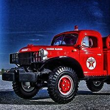 RARE - TEXACO REFINERY Dodge POWER WAGON BRUSH FIRETRUCK - First Gear