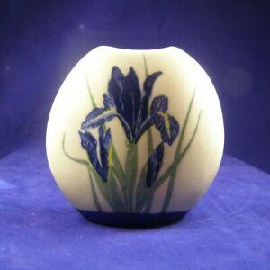 Otagiri Blue Iris Bud Vase Hand Crafted Japan