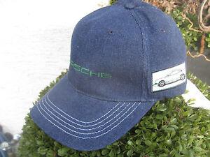 Golf Geschickt Porsche Kappe Cap Rs 2.7 Baseball Driver Collection,neu+ovp,blau,aufnäher Seite