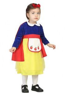 9fa255740da Déguisement Bébé Fille Princesse BLANCHE NEIGE 1 2 ans Enfant NEUF ...