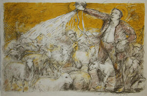 Lucien-Philippe-MORETTI-Lithographie-signee-Le-braconnier-de-Dieu-planche-10