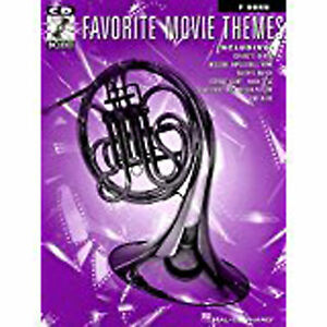 Favorite-Movie-Themes-F-Horn-Play-Along-Book-CD-Sheet-Music-Intermediate-S99