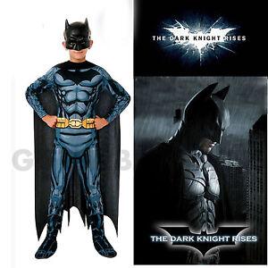 Image is loading Batman-Muscle-Costume-Boys-Superhero-Dark-Knight-Book-  sc 1 st  eBay & Batman Muscle Costume Boys Superhero Dark Knight Book Week Justice ...