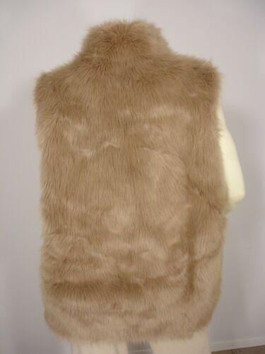 Foran Vest Jakke Women's Fur Ermeløs Lewis Hook Faux L Terry IRSqx