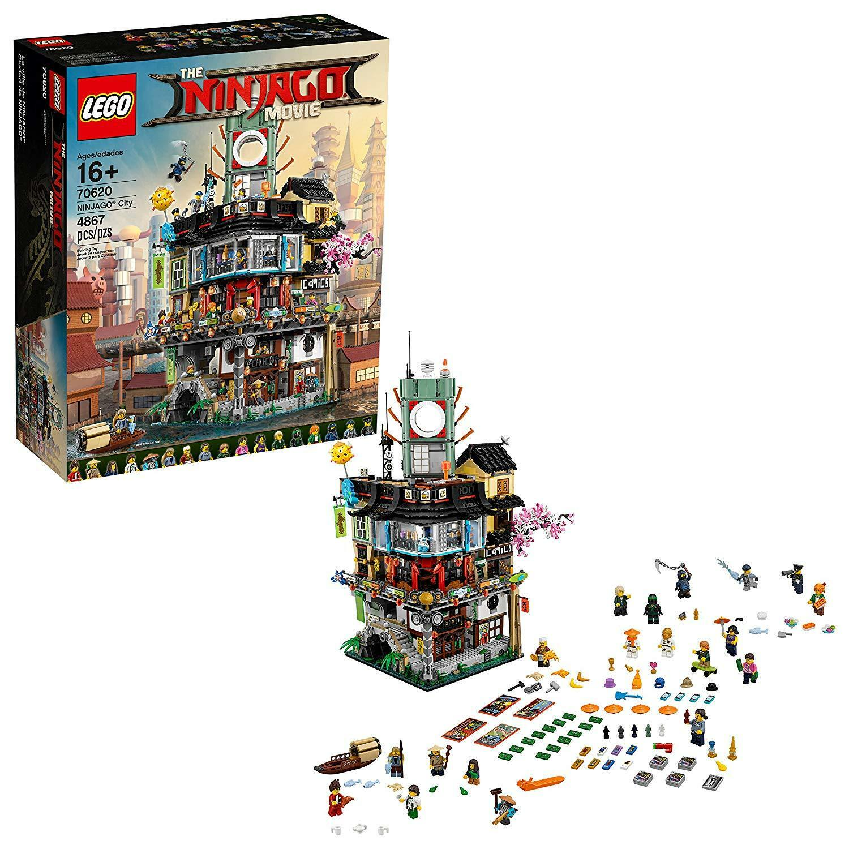 LEGO The Ninjago Movie City [Building [Building [Building Kit Toy 70620 4867 Pieces Minifigures] NEW b1886b